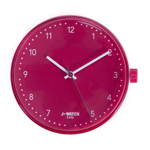 Large Watch Dial - White 40 Mm Red