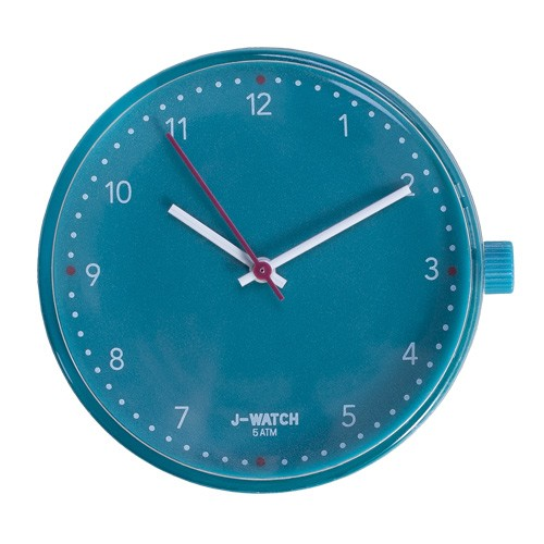 Large Watch Dial - White 40 Mm Teal