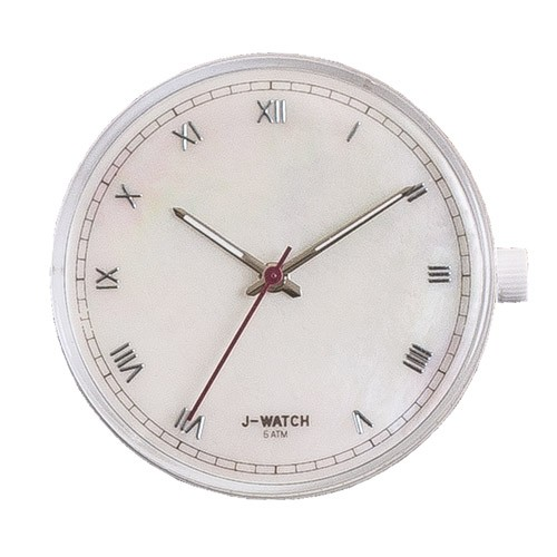 Large Watch Dial - White Roman Numerals