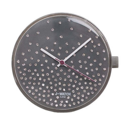 Large Watch Dial - Shiny Grey