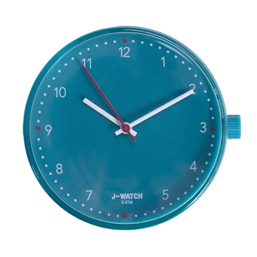 Small Watch Dial - 32 Mm Pure Teal