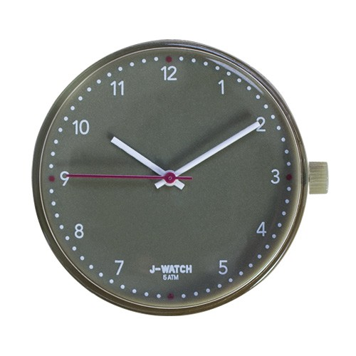 Small Watch Dial - 32 Mm Olive Green