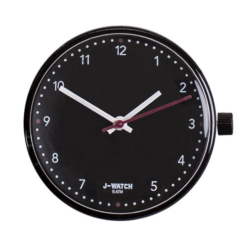 Small Watch Dial - 32 Mm Numbers Black