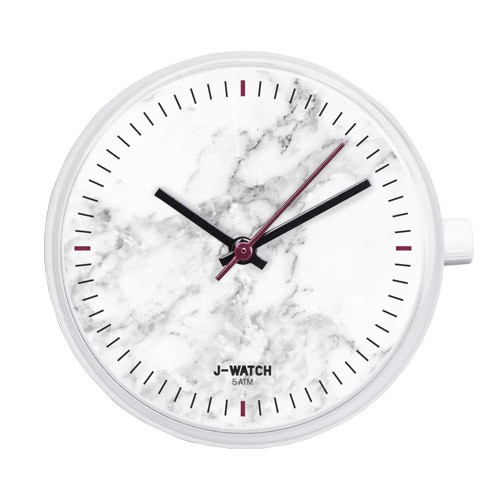 Small Watch Dial - Shiny White