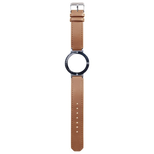 Watch Strap (Large Dial) - Leather Light Brown