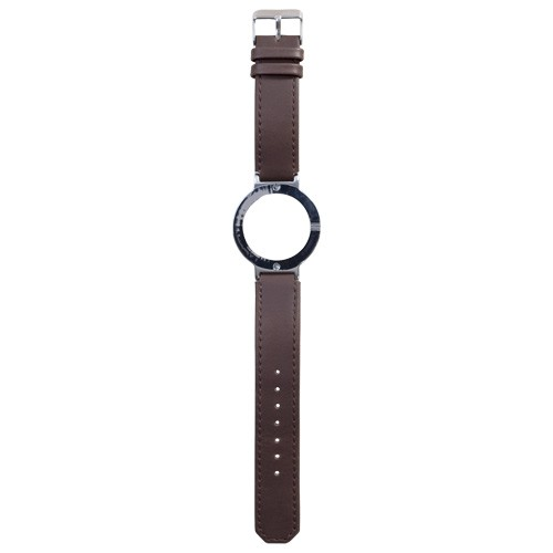 Watch Strap (Large Dial) - Leather Brown