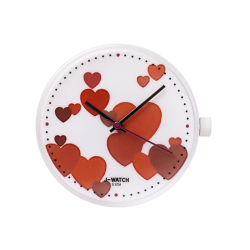 Large Watch Dial - Hearts