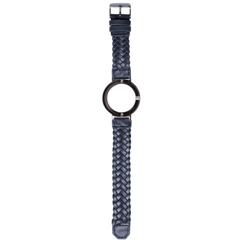 Watch Strap (Large Dial) - Blue Braided Leather