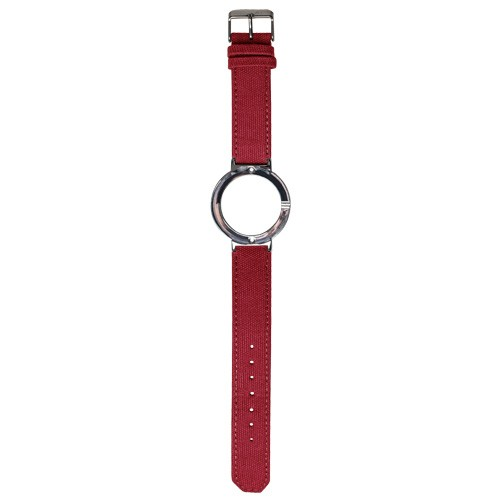Watch Strap (Large Dial) - Canvas Red