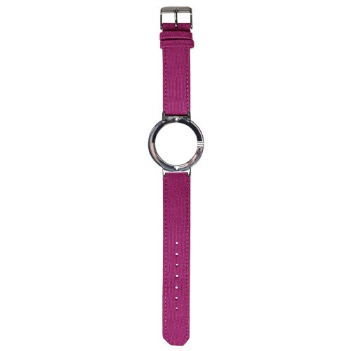 Watch Strap (Large Dial) - Canvas Magenta