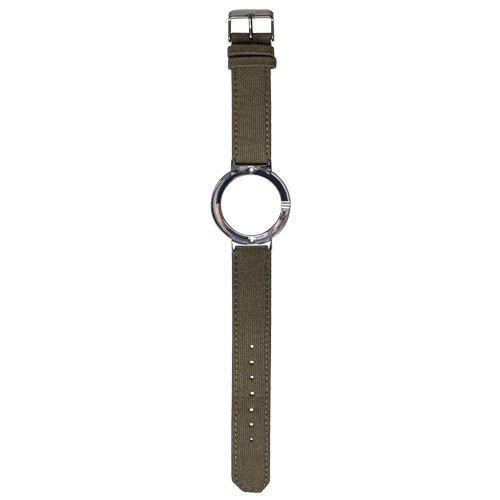 Watch Strap (Large Dial) - Canvas Green