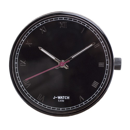 Large Watch Dial - Roman Numerals Black