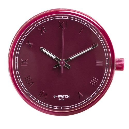 Large Watch Dial - Roman Numerals Ruby