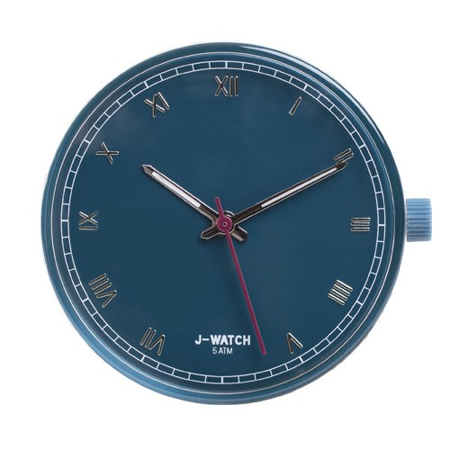 Small Watch Dial - Roman Numeral Teal