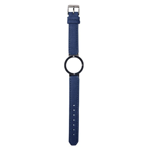 Watch Strap (Small Dial) - Canvas Electric Blue