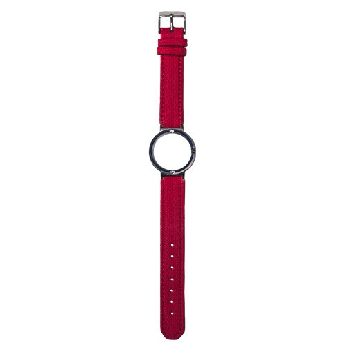 Watch Strap (Small Dial) - Canvas Red