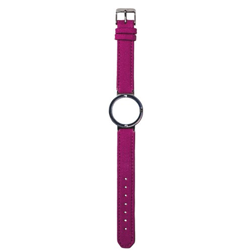 Watch Strap (Small Dial) - Canvas Magenta