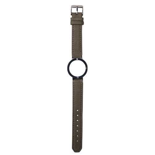 Watch Strap (Small Dial) - Canvas Green Olive