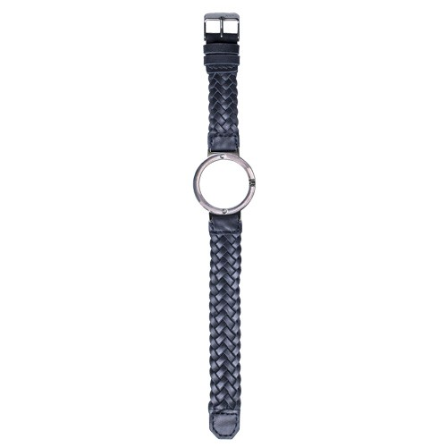 Watch Strap (Small Dial) - Blue Braided Leather