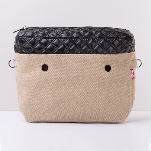 J-TINY Canvas Insert - Quilted Black