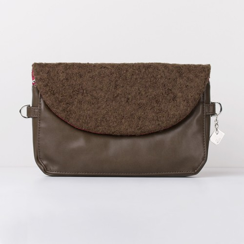 Snap Canvas Bag (J-POSH And J-PACK) - Green Wool