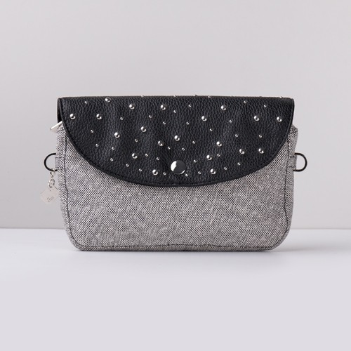 Snap Canvas Bag (J-POSH And J-PACK) - Studded
