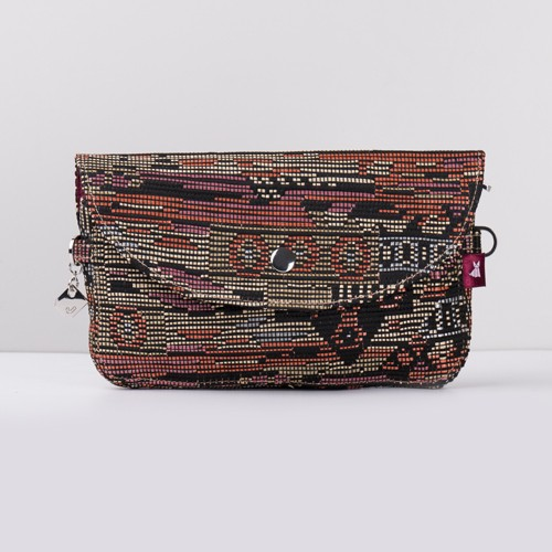 Snap Canvas Bag (J-POSH And J-PACK) - Marrakech Pink